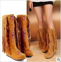 wholesale retail Ladies Fashion plus size snow boots , big size Ladies fashion winter half boots 2113