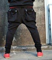 Men's Casual Baggy Harem Hip Hop Dance Sweat Sport Pants Trousers Slacks / free shipping