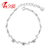 925 pure silver bracelet female angering lovers bracelet
