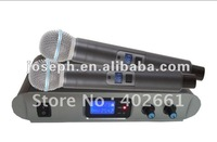 J-902U Small Size UHF Wireless Microphone / Dual Channels