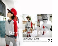 Free shipping children's clothing Spring and Autumn 2012 new children's the Korean baby sports suit sweater