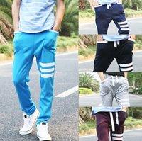 Mens Casual Rop pants Harem trousers pants training baggy Pants 5 Colors  / free shipping