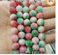 "8mm Multicolor Kunzite Round Loose Bead 15"""