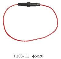 Fuse Holder,Fuse link F103-C 5X20