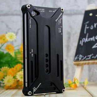Чехол для для мобильных телефонов Retail package series Arachnophobia Durable luxury case metal case for iPhone 4 4S 4G