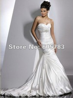 2012  Sexy New white/ivory Wedding Dress Bridal dress Gown Size Custom