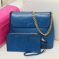 NEW DESIGN! Free Shipping 2013 Hot sell Lady Handbag PU  message bag wholesale and retail