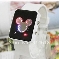 Led watch  of  child  for  sport  fashion  waterproof  free shipping  wholesale