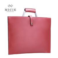 Micie commercial women's handbag ol ultra-thin briefcase Women genuine leather vintage handbag envelope bag