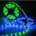 free shipping 5M 500CM Waterproof RGB 5050 LED Strip+IR Remote+Power 10set/lot