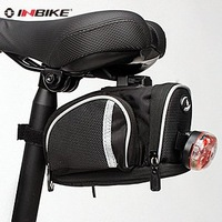Waterproof Bike Saddle Bag Bicycle Quick Release Seat Bag Cycling Rear Pouch Pannier in Black Colour