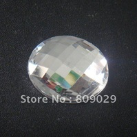 Acrylic stone shiny flatback acrylic chaton sew-on acrylic rhinestone 10mm 100pcs/lot free shipping