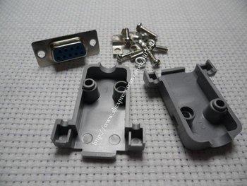 DB9 9P RS232 Serial Port Female Socket + Plastic 20pcs