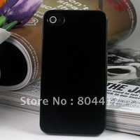 Guaranteed New Black one Hard Back Case Cover Skin House For iphone 4 4s, Free shipping+Wholesale