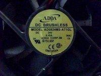 ADDA AD0824MS-A71GL 8025 24V 0.10A Cooling fan