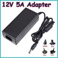 Free Drop Shipping IMAX Power Adapter Adaptor 12V 5A Imax B5 B6 Balancer Charger Black