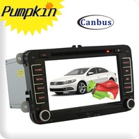 In Dash Car Radio DVD Player W/GPS 1080P The Fastest 1GHZ CPU Pure Android 2.3 3G WIFI F/VW Passat Golf 5 6 Tiguan