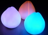 Seven color allochroism peach small night light fruit small night light room decoration energy saving lamp christmas gifts