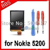 20pcs/lot  LCD For Nokia 5200 6060 6070 6080 lcd display sreen + tools free shipping
