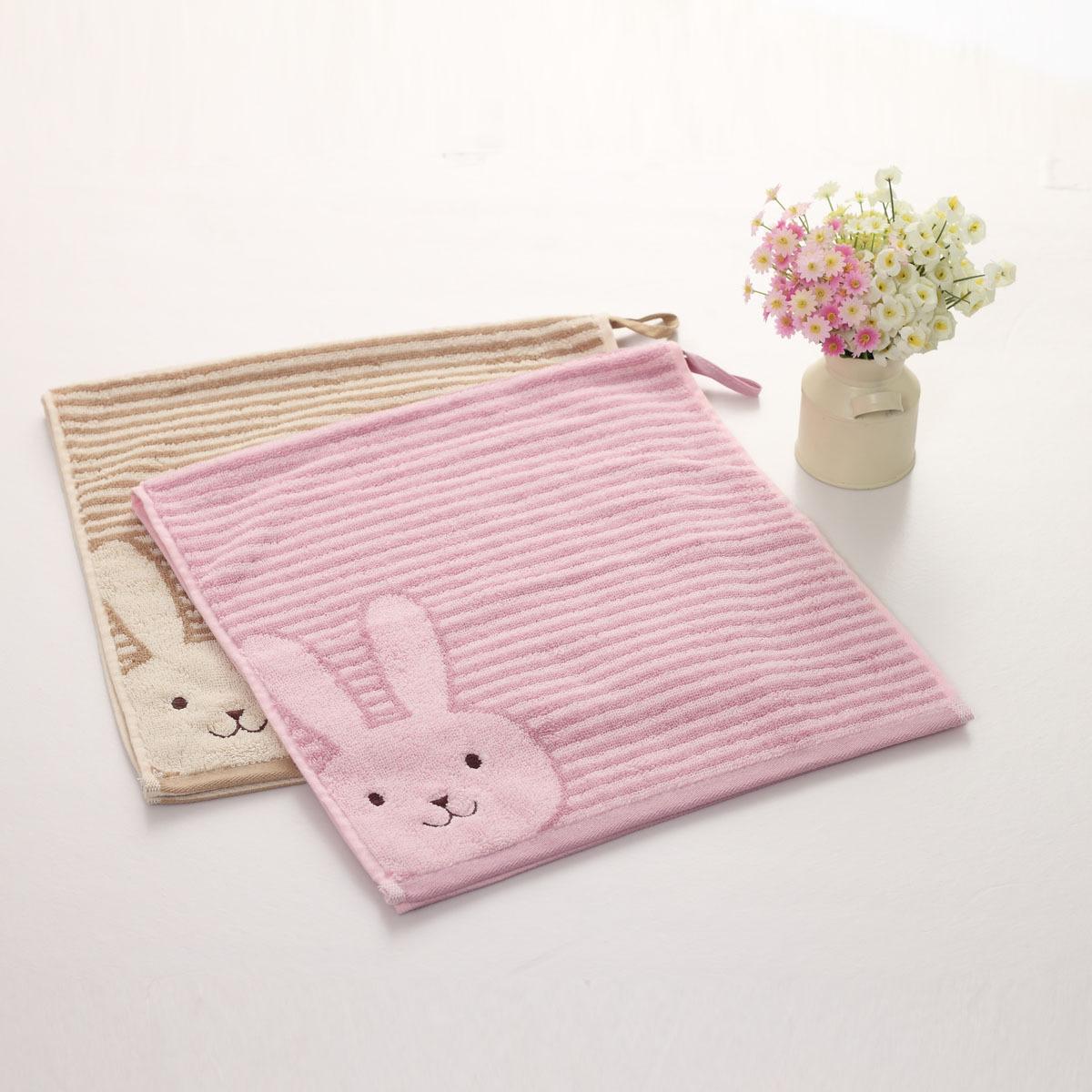 Vosges 100% cotton mention satin rabbit jy-1045b lovers bath towel(China (Mainland))