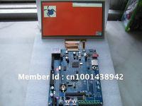 "Development board ARM Crotex-M3 STM32F103VET6 board+7""TFT+MP3+CAN+485+Internet,support Wireless"