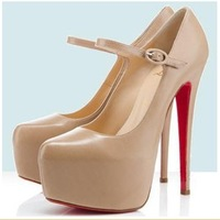 Free Shipping 12cm high waterproof sexy nightclub 2012 new European and American super- high heels