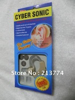 DHL free shipping 100pcs/lotHot sale CYBER SONIC ITE hearing aid invisible sound Amplifier voice amplifer hearing device