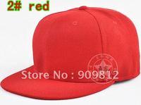 Free Shipping  Light board flat brimmed hat, Baseball cap, Bboy hip-hop hats, 5 size 10 color 50pcs/lot