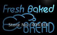 LB512- Fresh Baked Bread Bakery Shop NR Neon Light Sign    hang sign home decor shop crafts led sign