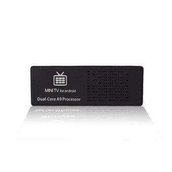 2014 Original MK808 MK808B Android Mini PC TV Box RK3066 1.6GHz Dual Core 1GB RAM 8GB ROM WiFi HDMI Full HD Bluetooth