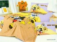 New Beautiful 3PC 100% Cotton Comforter Duvet Doona Cover Sets Twin / Queen Size baby bedding set 3pcs Mountaineering Mckey