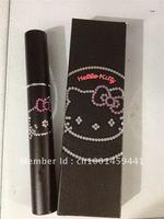 NEW Hello Kitty COSMETICS MASCARA BLACK makeup mascara Free shipping(12pcs/lot) Best Selling