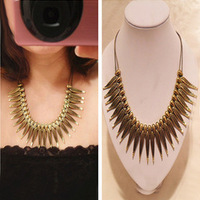 Sunshine store jewelry wholesale punk revit necklace  Hl08407 (min order $10 mixed order)X61