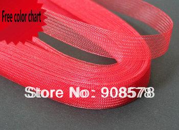 "4/5"" 2cm  Flat Plain Horsehair Crinoline Braid For Women 100yard/lot #31Color Free Shipping"