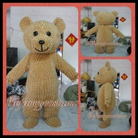 The Teddy Bear Mascot Costume Halloween Fursuit Christmas Adult Size Fancy Dress Party Outfit Free Shipping