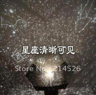 Hot sale! Birthday gift four seasons star projector starry sky projector lamps projector belt constellation,free shipping