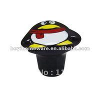 china QQ penguin decorative knob wholesale and retail shipping discount 100pcs/lot QQ-1