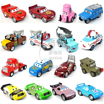 Automobile race WARRIOR car toy acoustooptical function die set