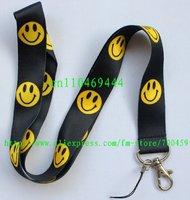 1pc Smile face Phone Strap NECK Hook Lanyard Charm
