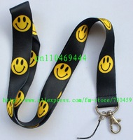 1pc Smile face Phone Strap NECK Hook Lanyard Charm