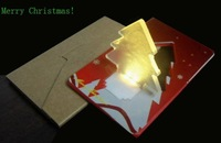 GLOBAL HOT-SALE New exotic led light card 40pcs/lot small wholesale & factory price