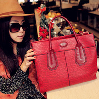 Bags cat bag fashion women's handbag cross-body crocodile pattern summer fashion vintage motorcycle bag