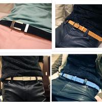 Male strap small strap u prefixes belt black pin buckle male genuine leather strap men's belt