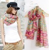 National trend print ultralarge scarf  irregular cape Autumn and winter wraps Fashion Accessories  for woman Free shipping