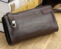 2012 genuine leather men's clutch bag fashion commercial male clutch man bag clutch/wallet men/Free Shipping #MCB01