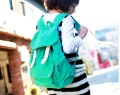 preppy style women&#39;s backpack canvas student bag backpack school bag 170