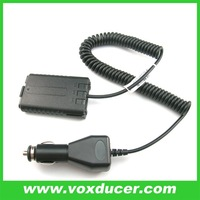 For Baofeng UV-5R two way radio accessory In Car Battery Eliminator Car Charger