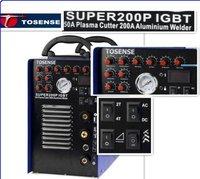 2012 New IGBT 50A plasma cutter 200V TIG MMA welder SUPER200P IGBT