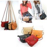 Korea star handbags fashion 2012 new for womenThree Inner Bag Design handbags Totes korean shoulder pvc bag free shipping drop