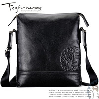 2013 Fashion Figg cheece men shoulder bag genuine leather business bag
